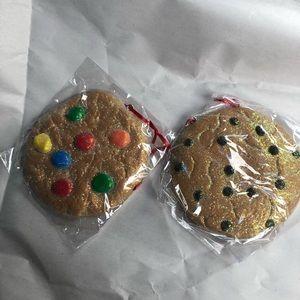 Christmas fake cookies ornaments